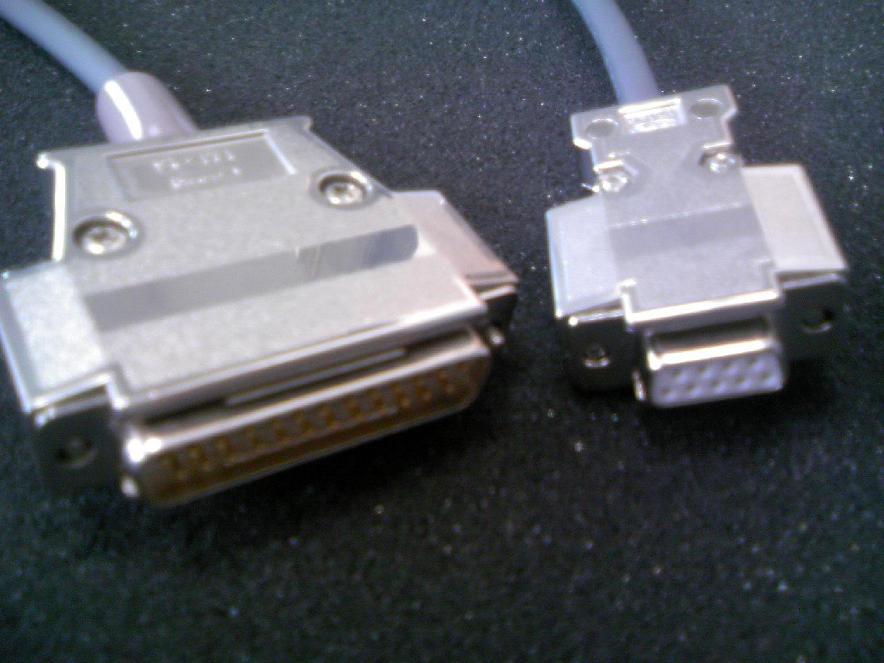 NC通信用 RS232Cケーブル(5〜40メートル)